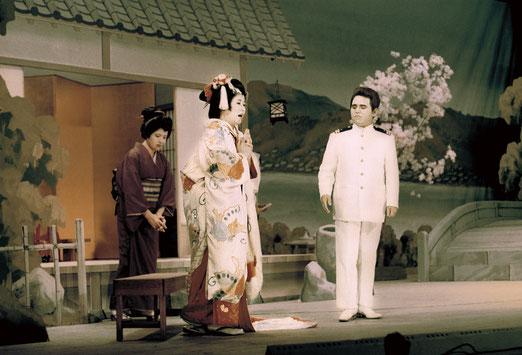 昭和44年度公演「蝶々夫人」より