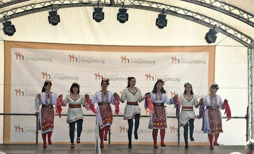 """Tanzgruppe  """"Bulgarische Rosse"""""""