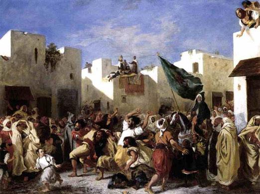 Фанатики Танжера. 1837-38
