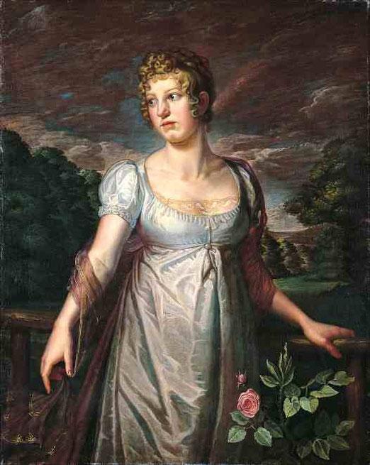 Портрет Вильгельмины Софии Хельвиг. 1807
