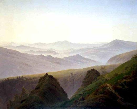 Утро в горах. 1822-23
