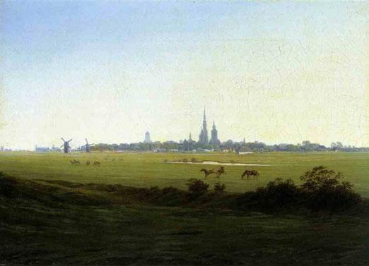 Луг в районе Грайфсвальда. 1822
