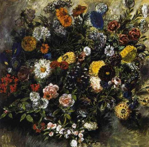 Букет цветов. 1849-50
