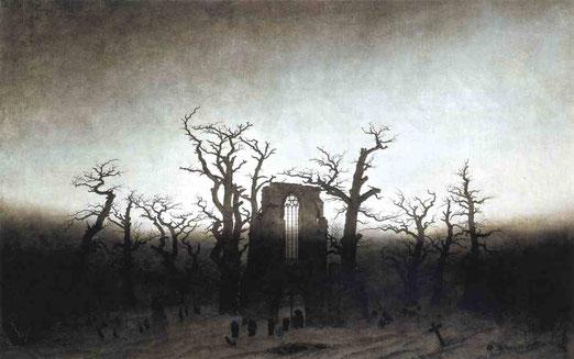 Аббатство в дубовом лесу. 1809-10
