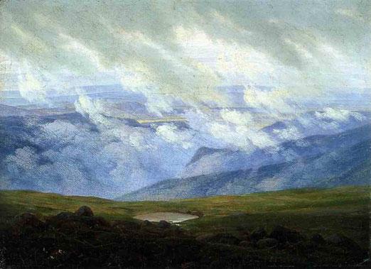 Уплывающие в даль облака. 1820        29