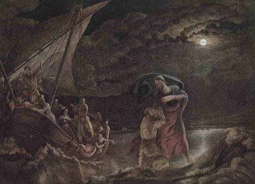Апостол Пётр на море. 1806-07