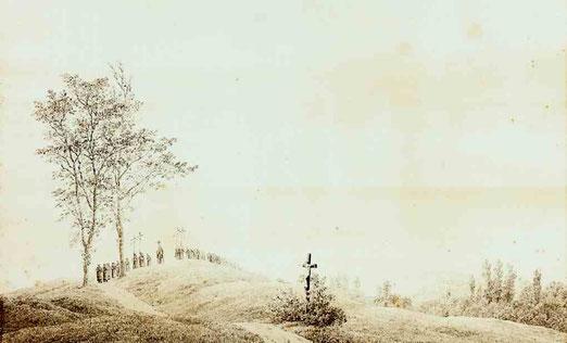 Паломничество на закате. 1805