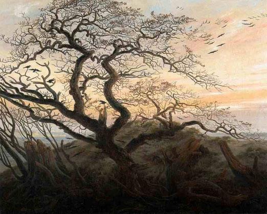 Дерево ворон. 1822
