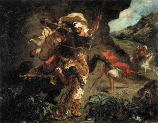 Охота на тигра. 1854