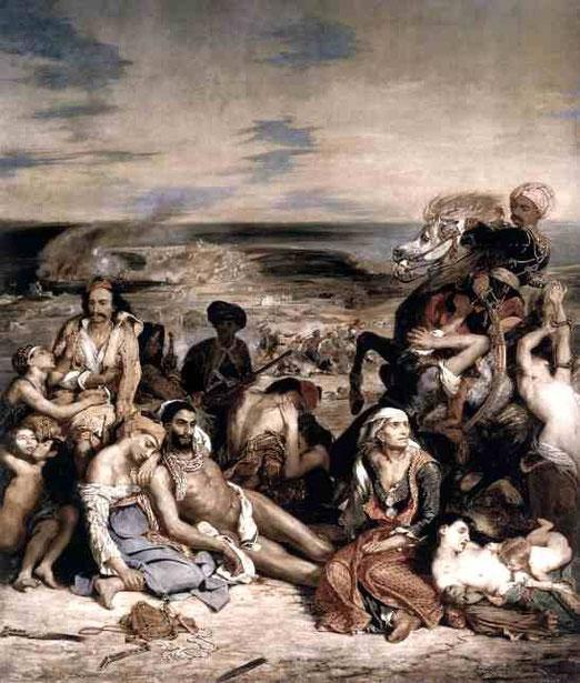 Резня на Хиосе. 1824