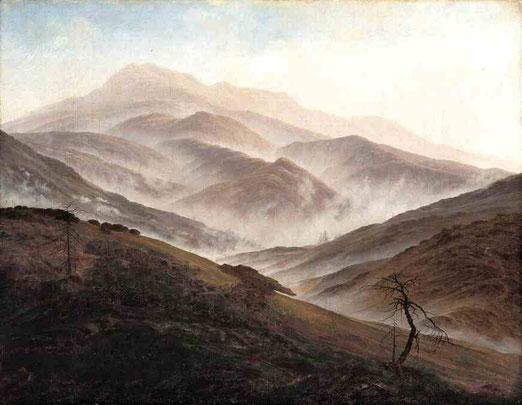 Пейзаж с восходящим туманом. 1819-20