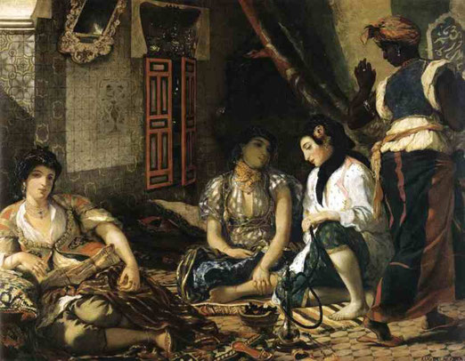 Женщины в Алжире. 1834