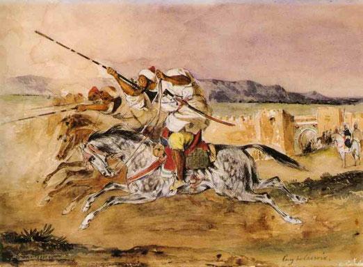 Арабская фантазия. 1832