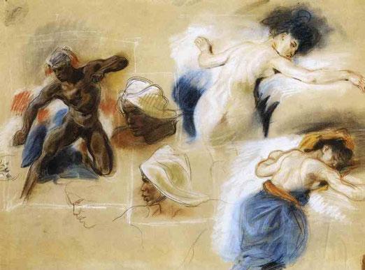 Эскиз на смерть Сарданапала. 1827