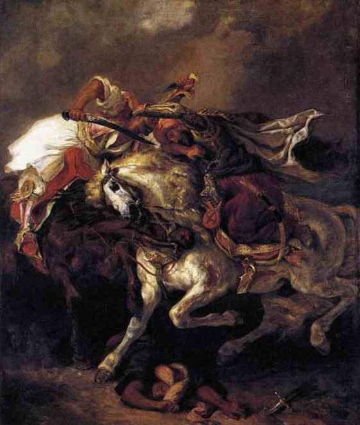 Борьба с Гяура и Хасан . 1835