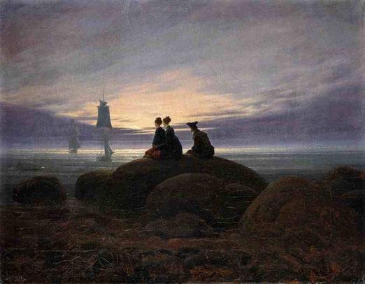 Восход луны на море. 1822     38