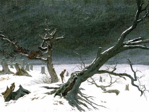 Зимний пейзаж. 1811