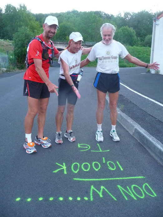 Don WINKLEY passe 10 000km sur la TG