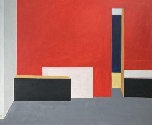 FarbRäume 22, Acryl, 100 x 120 cm, 2021
