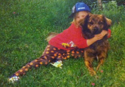 Toby & ich September 1997