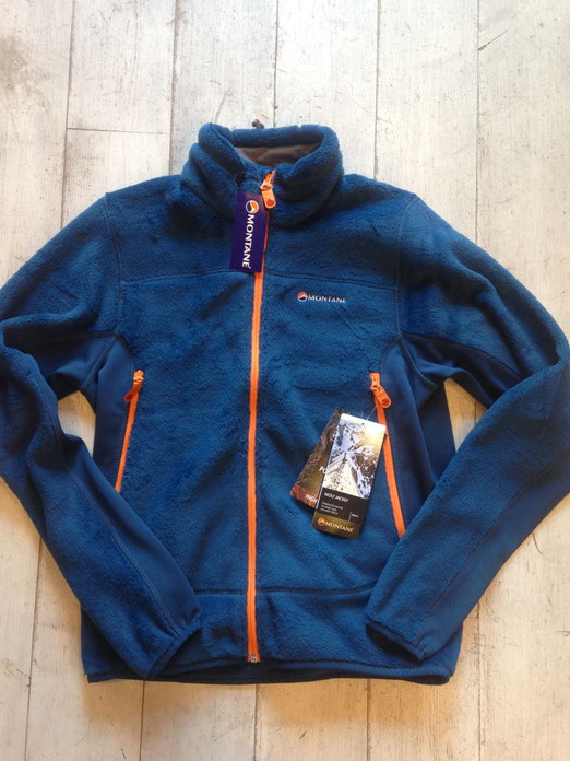 MONTANE(モンテイン) WOLF JACKET(Moroccan Blue) ¥24,840(税込)