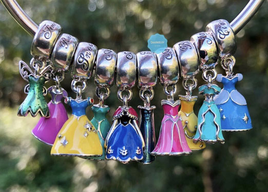 99f470bcd ... about the Pandora Disney Dresses not all of the list above have been  released as a charm and 3 charms are not officially Disney princesses:  Tinkerbell, ...