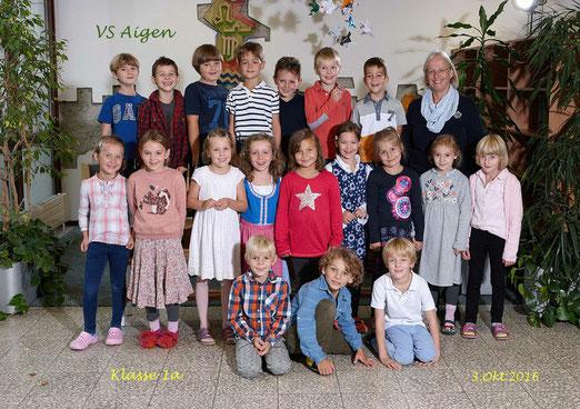1a - Klasse: VOL Dipl.-Päd. Valtiner Elisabeth