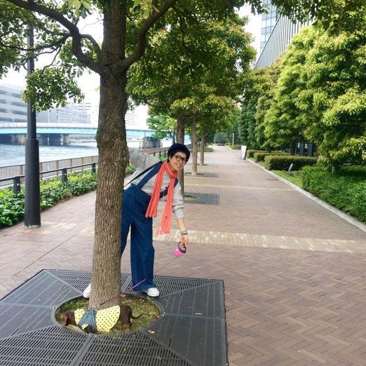 楽しいお散歩(^o^)