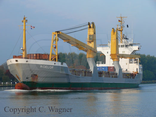 Heavy Lift Vessel ROELOF, ex ANNEGRET, Typ 132