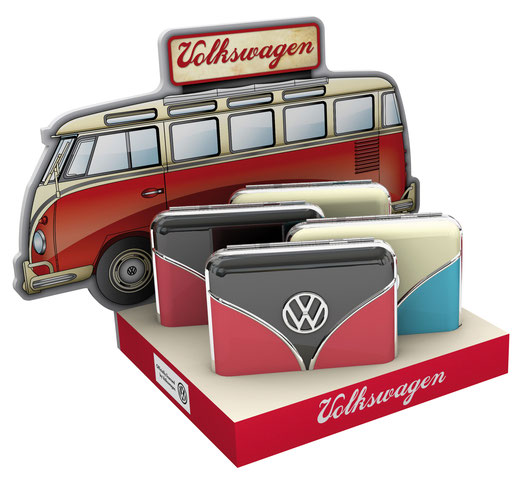 Zigarettenetui VW Samba, Bulli Frontansicht