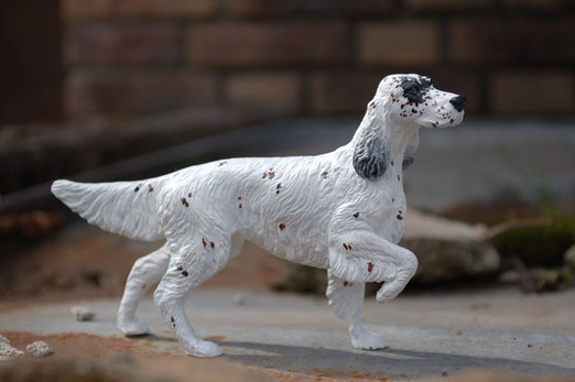 """Breyer English Setter"",Repaint"