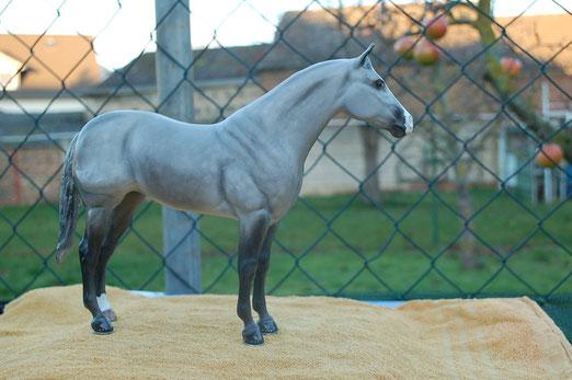 """""""Breyer AQAH Ideal Quarter Horse Repaint"""",bemalt von mir"""