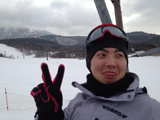 今回の企画者の野呂田君。楽しそうです