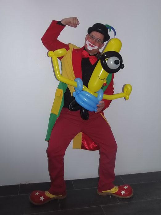 Clown Mabo in Deurne