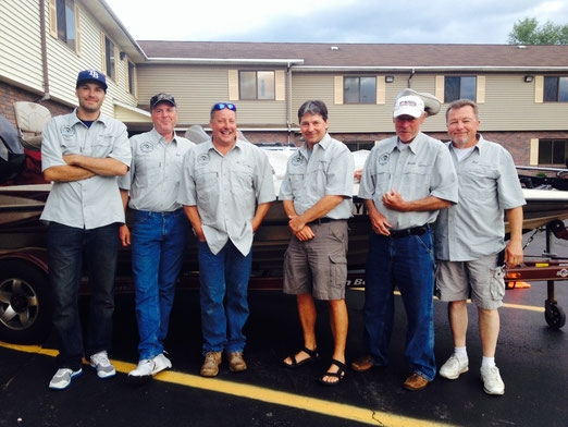 2014 6 Man Team - Left to right - Jay Dorry, Bill Carlstrom, Al Coleman, Joe Angelucci, Whitey Grogan, Robert Bates