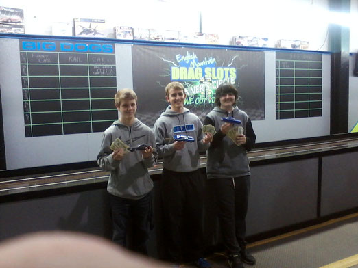 JESSE 1ST, MITCH 2ND, DYLAN 3RD... 1008.00 PAYOUT