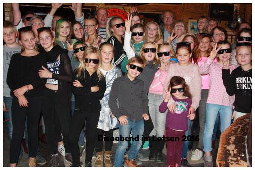 Discoabend 2016 im Göhrener Lotsen