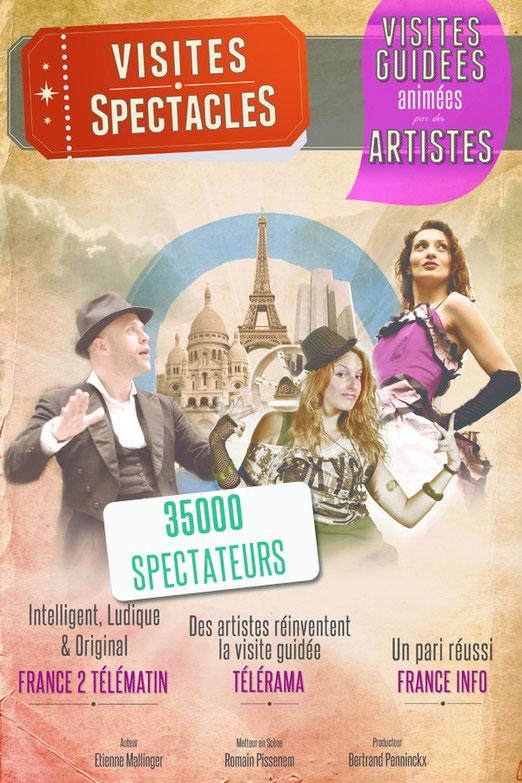 visite guidée Paris nouveau 2013
