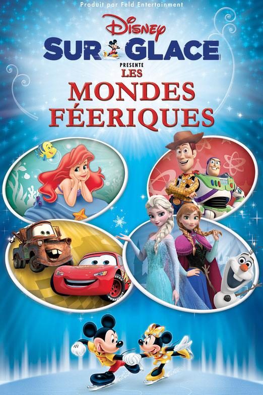 Disney sur glace un spectacle evenement 2015 pour toute la famille