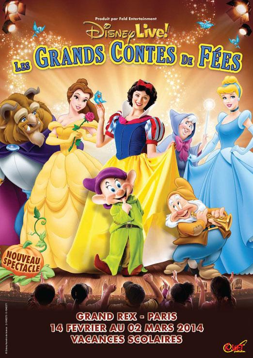 Disney live 2014 au Grand Rex vacances février