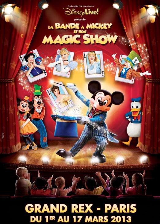 Disney live 2013 au Grand Rex pour un