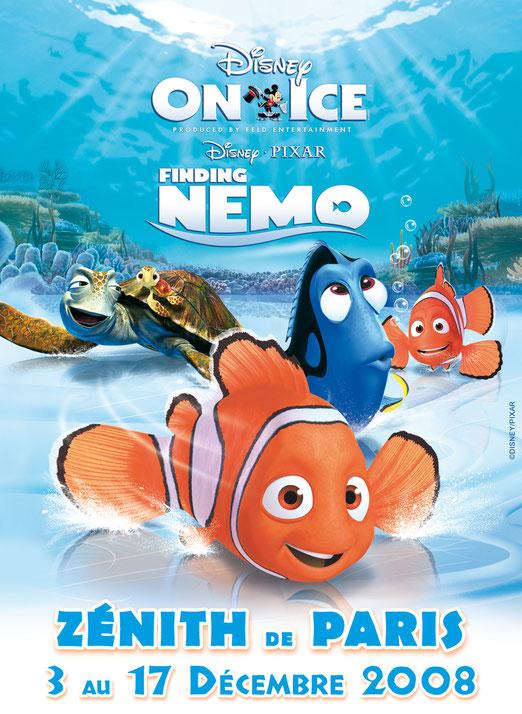 disney sur glace 2008 le monde de Nemo