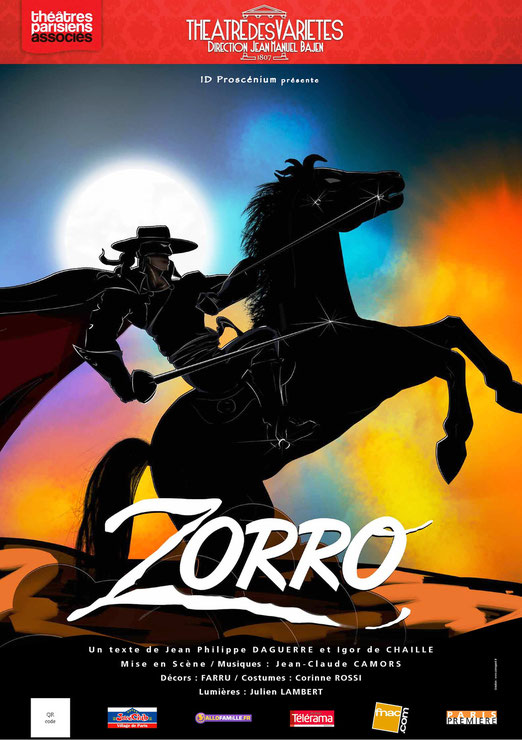 Théatre la fiancée de Zorro