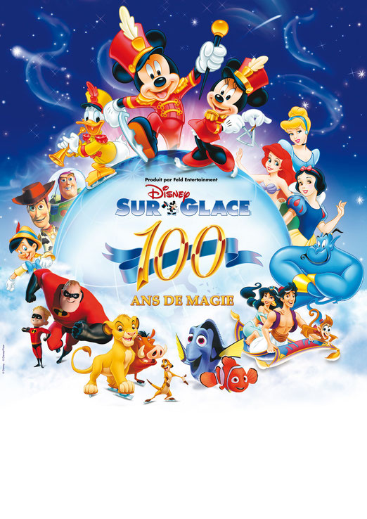 Disney sur glace 2010 100 ans de Magie