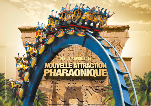 pharaon Asterix Attraction