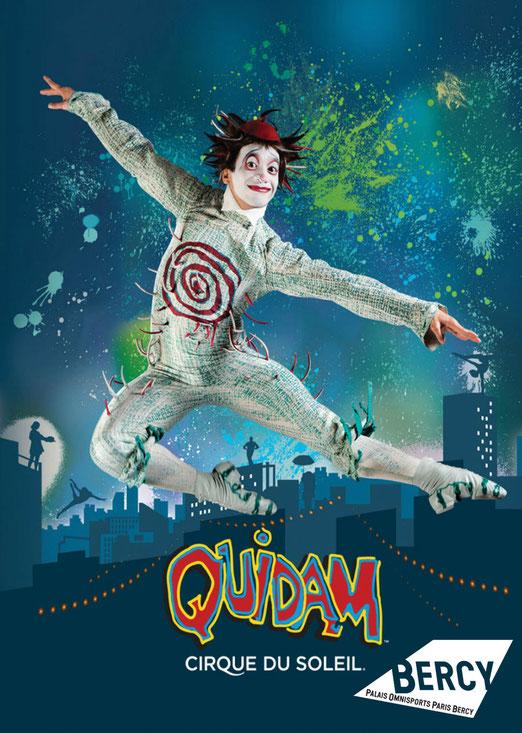 Cirque du soleil 2014 à Paris - quidam