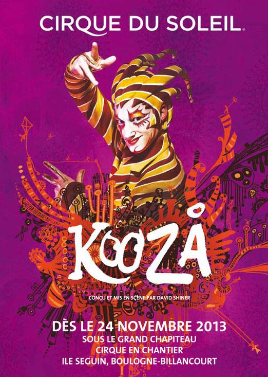 Cirque du soleil 2013 à Paris - KOOZA