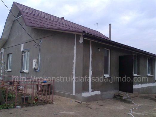 ремонт фасада, простукивание стен, армирование трещин