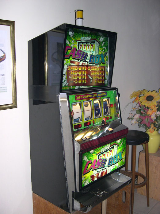 Slot Machine Cash Box