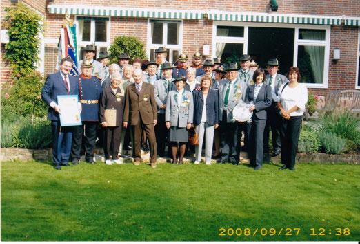Zum Gegenbesuch an der Botschaft vom Fürstentum Liechtenstein 2008